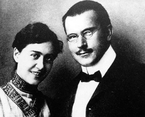 Jung e sua moglie Emma