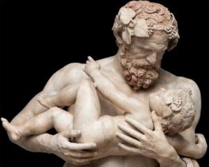 Sileno con Dioniso bambino