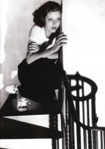 """""""Donna su una scala"""", fotografia, di Edward Steichen"""