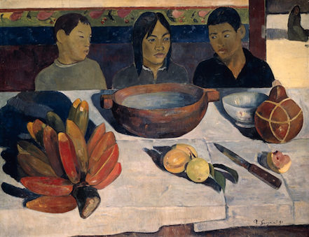 Mangiare The meal Gauguin