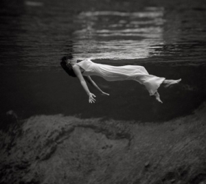 Cristina Jones black-and-white-photo